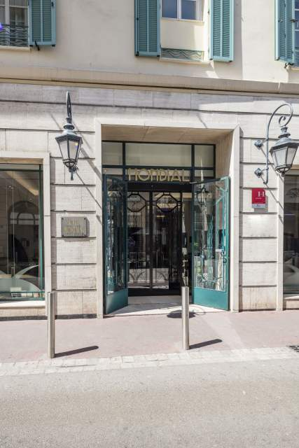 Entrée Hotel Le Mondial, Cannes