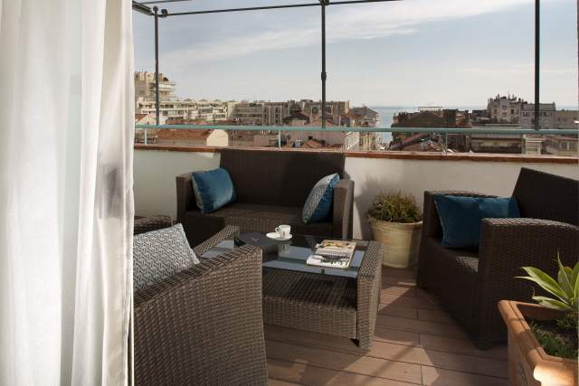 Suite prestige vue mer, Cannes
