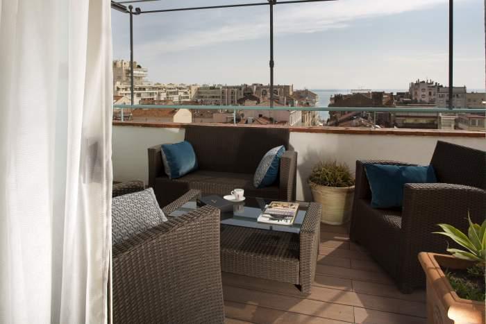 BW le Mondial Hotel <span><span><span><span>Suite Prestige with sea view</span></span></span></span>