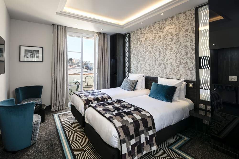 Le Mondial Hotel Cannes rooms